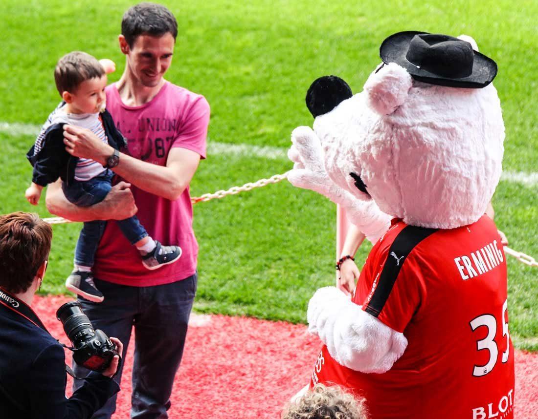 Erminig et Stade Rennais FC : photos évènement