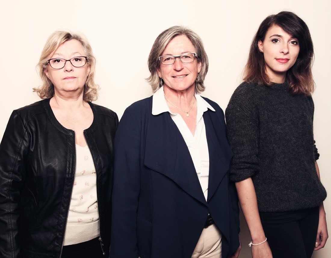 Portraits avocats, Véronique Lotelier-Robin, Marine Scapin