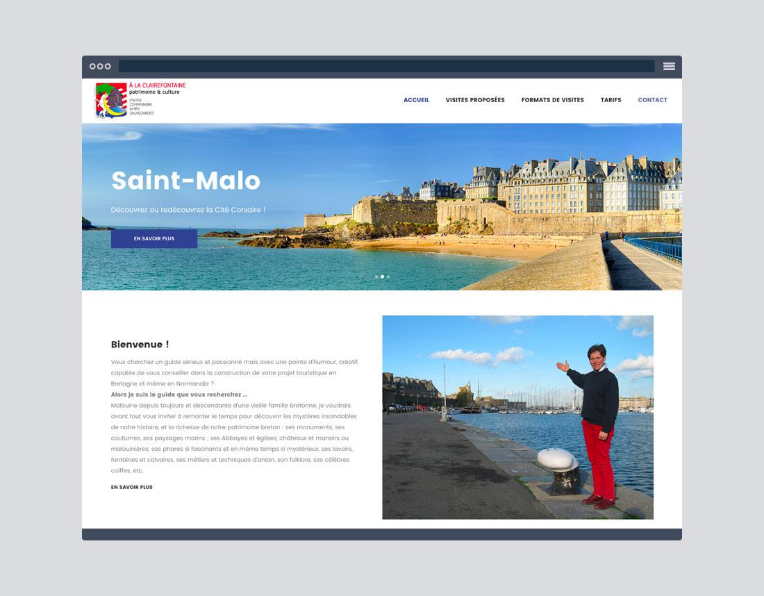 Creation sites internet et communication, tourisme Bretagne