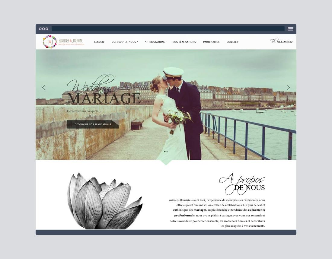 Site internet simple, création à Rennes, Saint-Malo, Bretagne