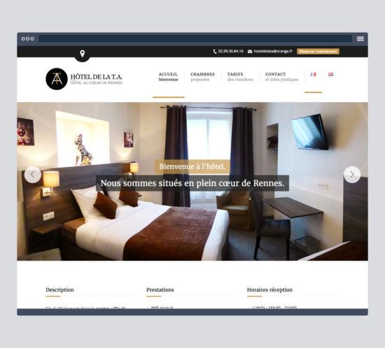 Création site web, vidéo pour artisan, hôtel, restaurant