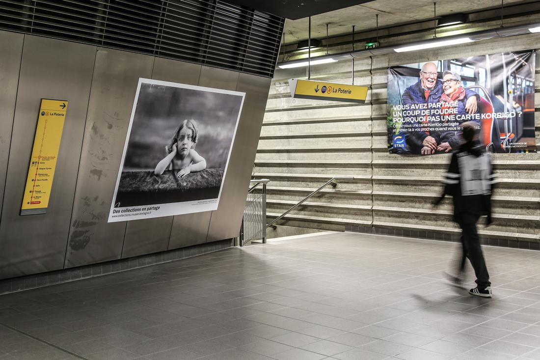 Reportage photo dans le métro rennais