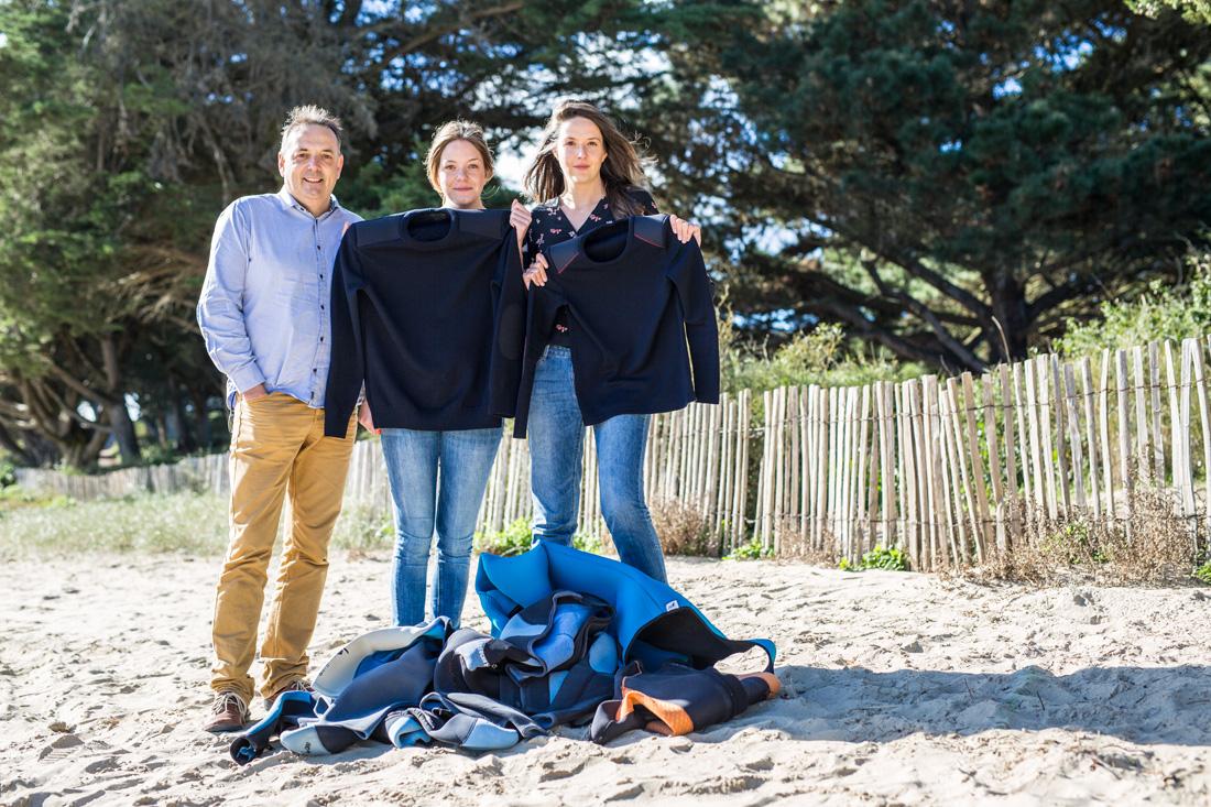 Portraits de famille pour la marque Teorum