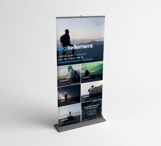 Kakémono / Roll-up digitellement