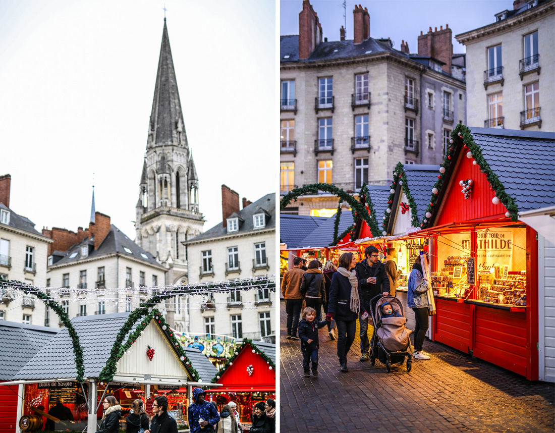 Photographies du marché de Noël à Nantes, Noël 2017