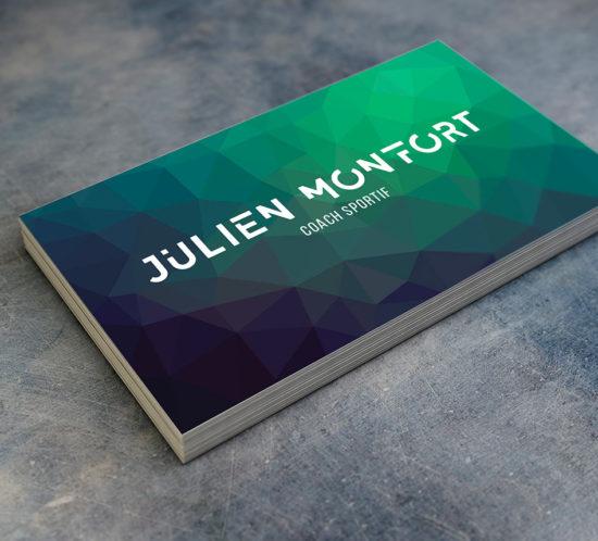 Carte de visite de Julien Monfort coach sportif à Rennes