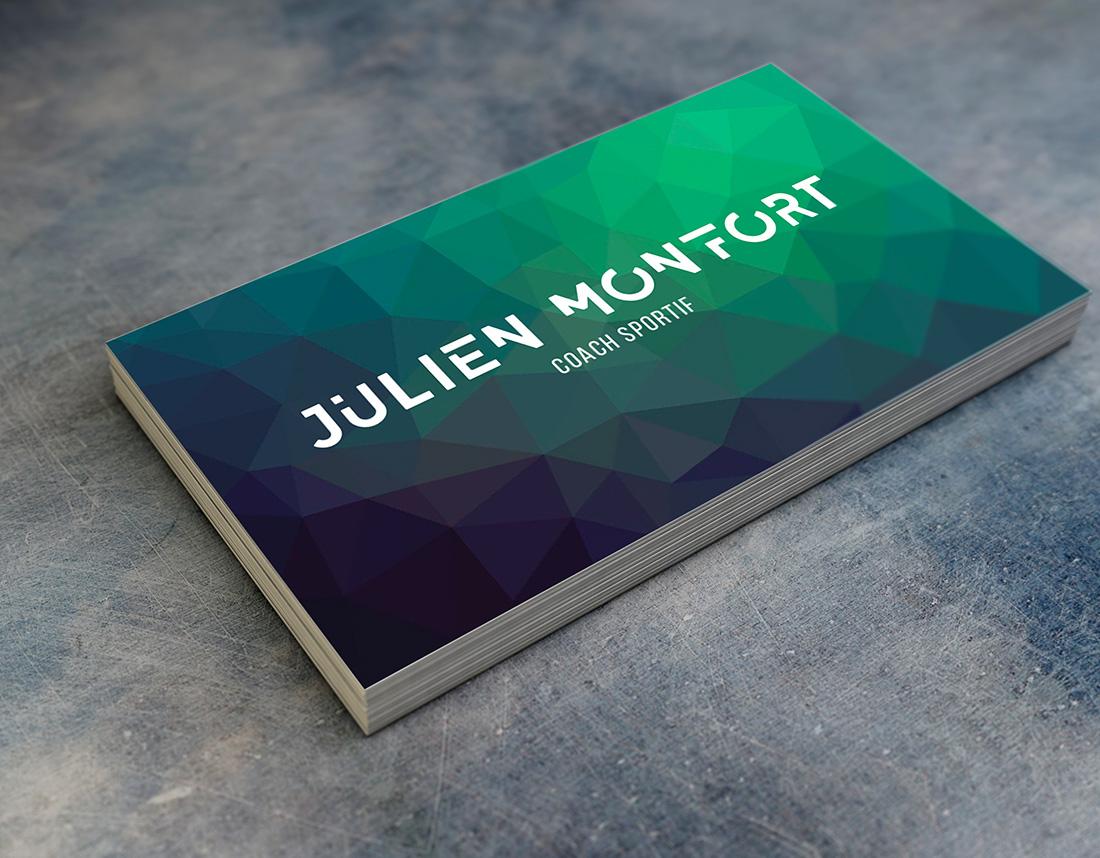 Carte De Visite Julien Monfort Coach Sportif A Rennes