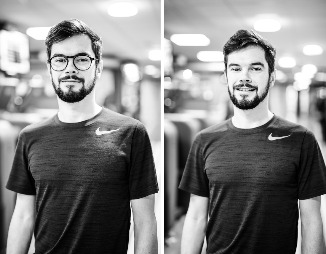 Portrait de Julien Monfort coach sportif à Rennes