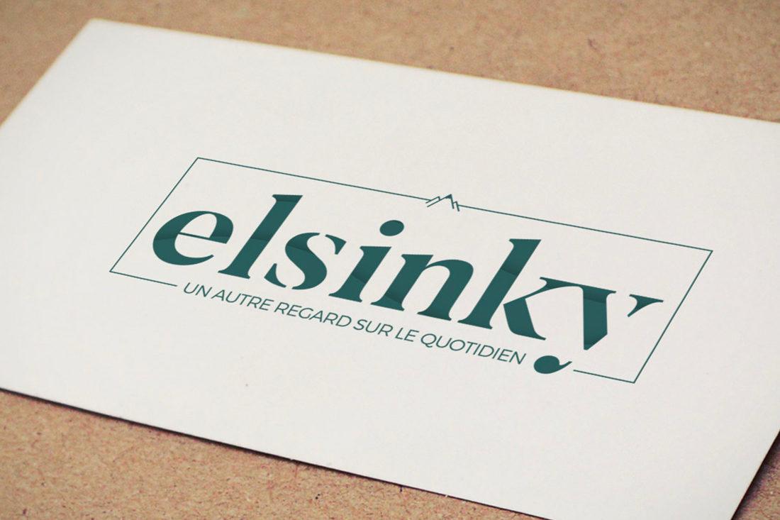 Création du logo Elsinky, une entreprise de Digitellement à Rennes