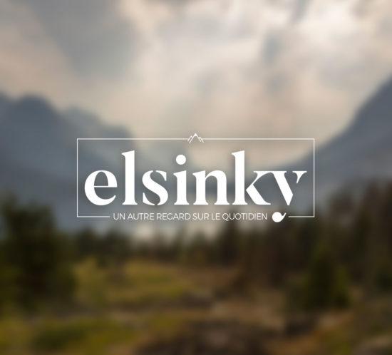 Création de l'identité graphique / logo de l'entreprise Elsinky à Rennes